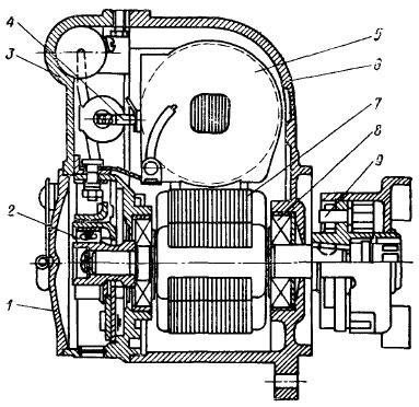 Схема магнето М-137