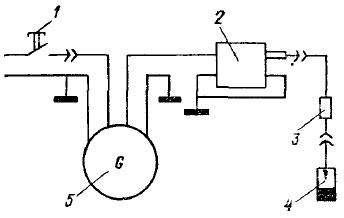 электросхема козлового крана
